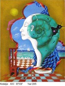 ALPI-03 NOSTALGIA 30x36 2005