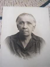 Mme Auguste Magloire (née Archer), grand-mère de la romancière Nadine Magloire