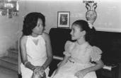 Nadine & Diane - Pétion Ville, Haiti - Novembre 1968
