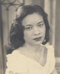 NADINE MAGLOIRE - Port-au-Prince 1952